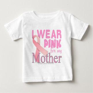 Conscience de cancer du sein pour la mère t-shirt pour bébé