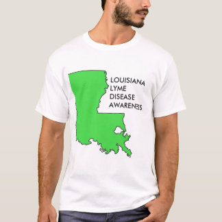 Conscience de la maladie de la Louisiane Lyme T-shirt