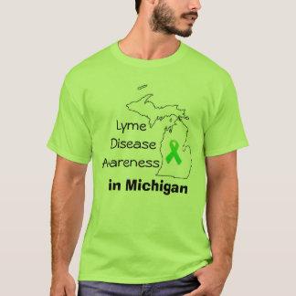 Conscience de la maladie de Lyme au Michigan T-shirt