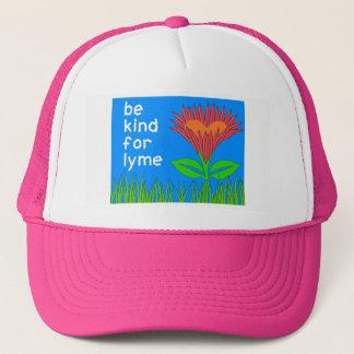 Conscience de la maladie de Lyme - casquette de