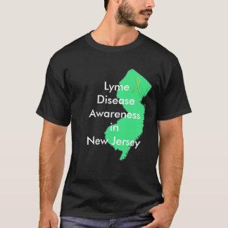 Conscience de la maladie de Lyme dans le New T-shirt