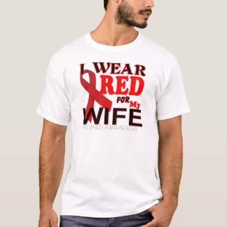 CONSCIENCE de SIDA d'HIV pour mes T-shirts