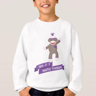 Conscience de syndrome de chasseur de soutien sweatshirt