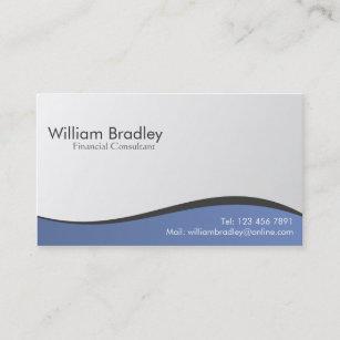 Cartes De Visite Conseiller Financier Personnalises