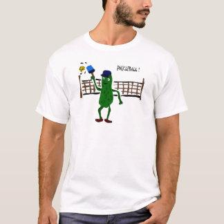 Conserves au vinaigre jouant l'art de primitif de t-shirt