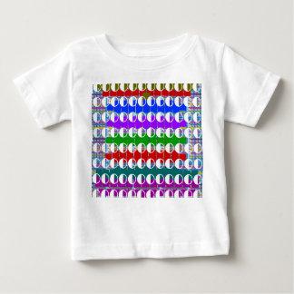 Constellations de lune d'alcool illégal t-shirt pour bébé