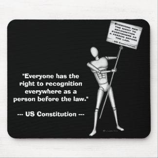 Constitution des USA : Article 6 Tapis De Souris