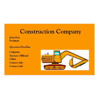 Cartes de visite foss foss cartes de visite professionnelle for Carte visite construction