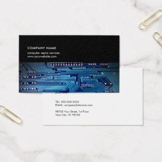 Consultant en matière bleu-foncé moderne cartes de visite