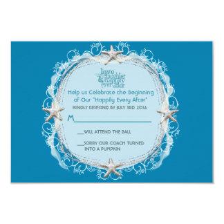 Conte de fées sous la mer RSVP Carton D'invitation 8,89 Cm X 12,70 Cm