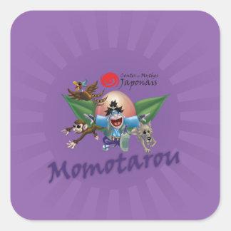Contes et Mythes Japonais - Momotarou Sticker Carré