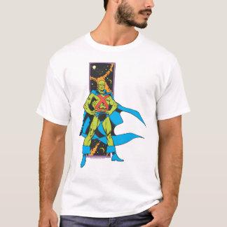 Contexte martien de Manhunter et d'espace T-shirt