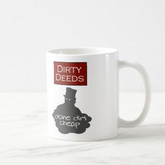 Contrats sales faits pour rien mug blanc