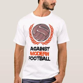 Contre le T-shirt moderne du football