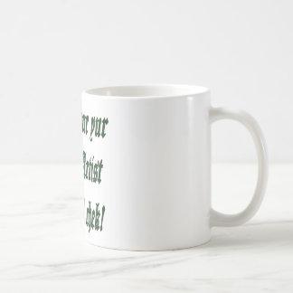 Contrôle de charme de tatouage mug