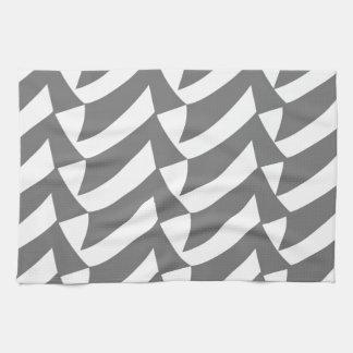 Contrôles de gris serviettes pour les mains