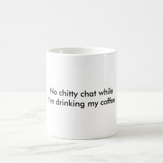 Conversation de note mug blanc