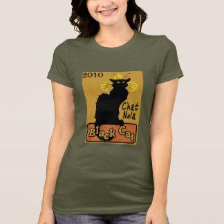Conversation Nola, chat noir, 2010 T-shirt