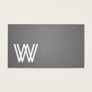 Cool moderne élégant de texture grise cartes de visite