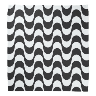Copacabana waves pattern. foulard
