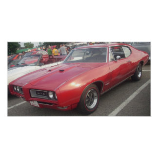 Copie 1968 de hard-top de Pontiac GTO Poster