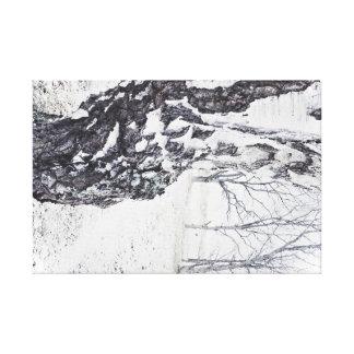 Copie 24x16 de toile de bouleaux d'hiver petite