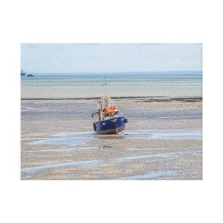 Copie à marée basse de toile de bateau