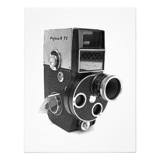 Copie/affiche vintages fraîches d'appareil-photo ! impression photo