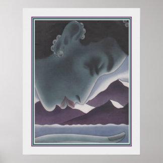 Copie asiatique d'art déco par Frank Macintosh