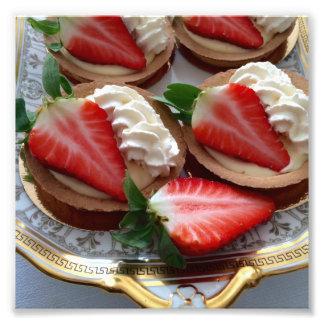 Copie au goût âpre de photo de fraise