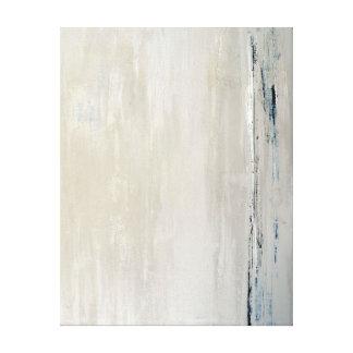 Copie beige de toile d'art abstrait de toiles