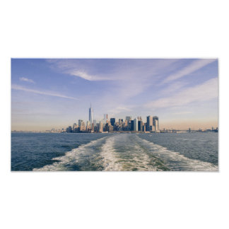Copie d'affiche d'horizon de New York City Poster