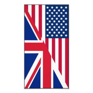 Copie d'Américain et de photo de drapeau d'Union