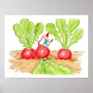 Copie d'art de gnome de radis