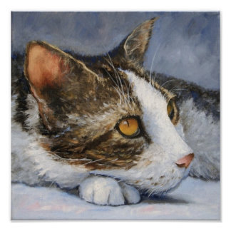 Copie de beaux-arts de chat