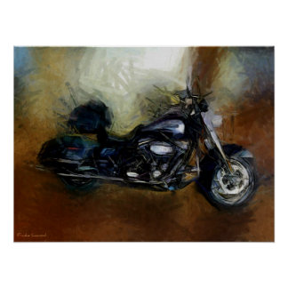 Copie de beaux-arts de moto de Harley