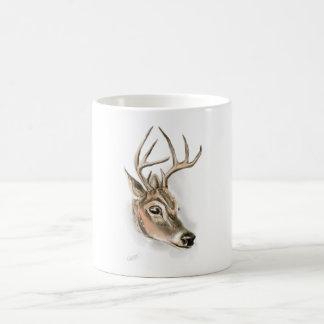 Copie de cerfs communs sur la tasse