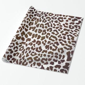 Copie de chocolat de léopard papier cadeau