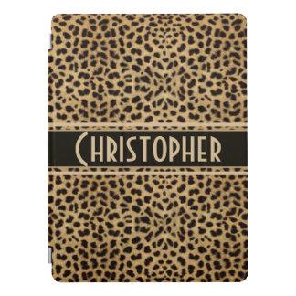 Copie de conception de peau de tache de léopard protection iPad pro