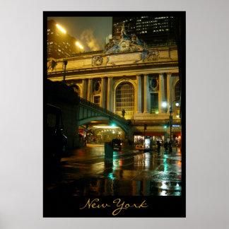Copie de nuit de New York de paysage urbain