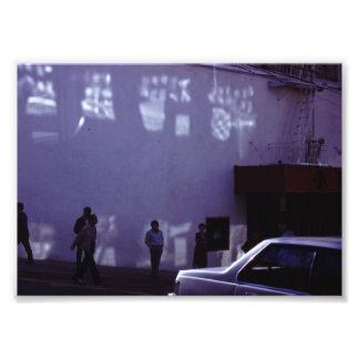 Copie de photo de film de rue de ville