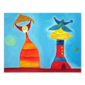 Copie de photo d'illustration d'art abstrait