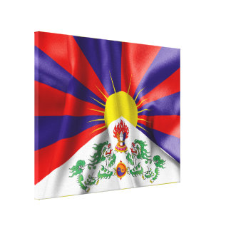 Copie de toile de drapeau du Thibet