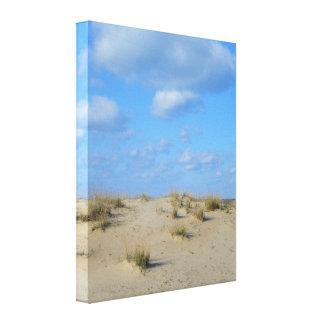 Copie de toile de dunes de sable d'été