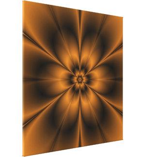 Copie de toile de fleur d'or