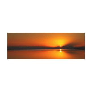 Copie de toile de lever de soleil de plage de