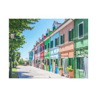 Copie de toile de maisons de Burano