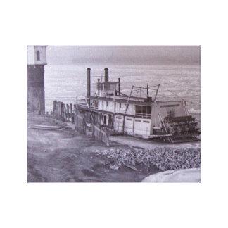 Copie de toile de Parker de bateau à vapeur Toiles