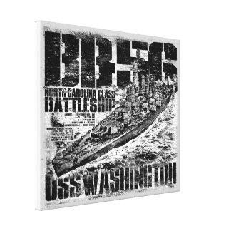 Copie de toile de Washington de cuirassé