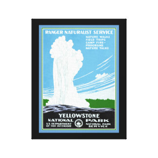 Copie de toile de Yellowstone